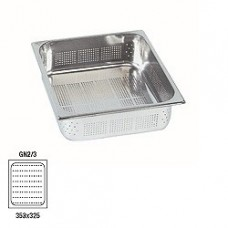 Gastronom Stainless Steel Perforated H65mm