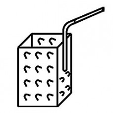 Basket 1/6 Pasta Cooker Lateral Handle