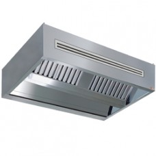 Central Cooker Hood With Air Compensation