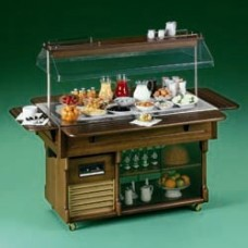 Buffet With Refrigerated Top 4 Gn 1/1