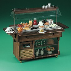 Buffet+refrigerated Top+dome Wo Plate-holder
