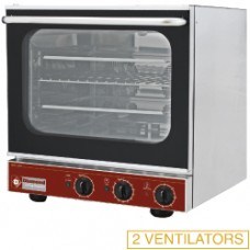 Electric Convection Oven + Salamander