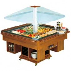 Refrigerated Island Capacity 8 Gn  1/1