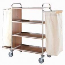 Carriage For Linen In Stainless Steel
