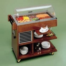 Refrigerated Trolley For Desserts