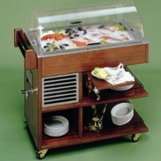 Refrigerated Trolley For Fish