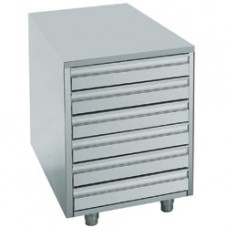 Case For Paste, 6 Drawers 600x400 Mm