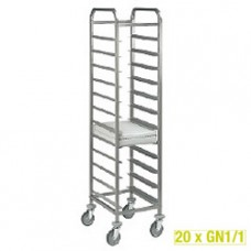 Plate Trolley 20xgn 1/1 - Space 75mm