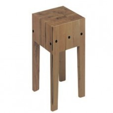 Wooden Chopping Block On Stand 500x500 Mm