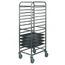 Plate Trolley 600x400 Mm - 18 Levels