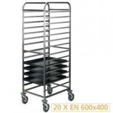 Plate Trolley 20x600x400 Mm - Space 75 Mm