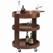 Liqueur Trolley 3 Levels In Wood