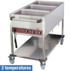 Trolley Heated 3 Gn 1/1 - 3 Temperatures