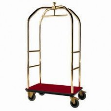 Carriage Bags/cloakroom 2 Wheels Brakes