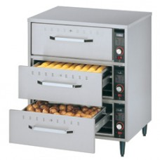 Food Heater To Put Down, 3 Drawers