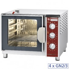 Elect. Heated Oven Steam/convection 4x Gn2/3
