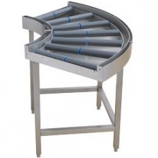 Curved Rolling Bar Conveyor 90°, Exit To Rx/