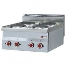 Electric Cooker 4 Hobs -top-