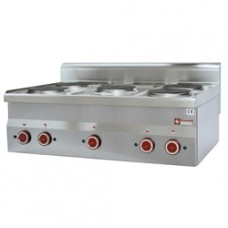 Electric Cooker 5 Hobs -top-