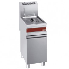 Gas Fryer Single Tank 15 Litres On Base