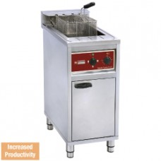 Electric Fryer 16l On Undercarriage 4-8-12kw