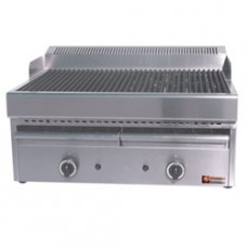 Gas Steam-grill With Cook. Grid In Cast Iron