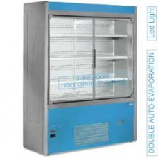 Refrigerated Wall Unit Vent. With Glass Door