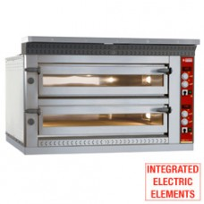 Electric Pizzas Oven  2x 9 Pizzas 350 Mm