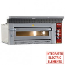 Electric Pizzas Oven 4 Pizzas 350 Mm