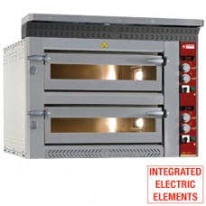 Electric Pizzas Oven  2x 6 Pizzas 350 Mm