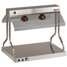 Heating Bridge And Top With Infrared Lights
