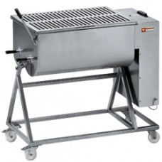 Stain.st. Meat Mixer 120kg Stand With Wheels