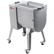 Stain.st. Meat Mixer 50kg Stand With Wheels