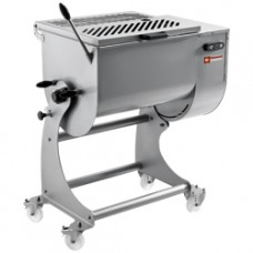 Stain.st. Meat Mixer 80kg Stand With Wheels