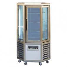 Refrigerated Display 6 Glass Sides