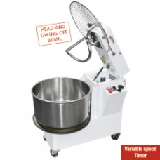 Dough Mixer 42 L Tilt. Head Variable Speeds