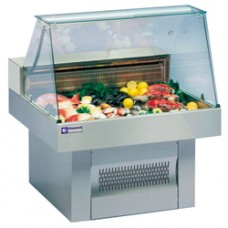 Refrigerated Glass Display Case