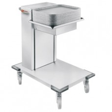 Neutral Trolley With Spring Syst. For Trays