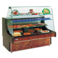 Refrigerated Bakery Counter Curved Window