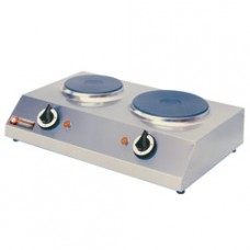 Electric Range With 2 Plates