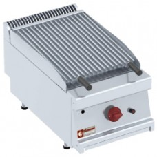 Gas Lavast. Grill-1/2 Mod.cookingplate Z-for