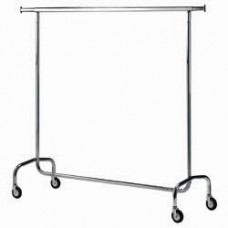 Clothes Hanger On Casters Dismountable Chrom