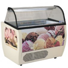 Ice Cream Display Case For 10 Trays