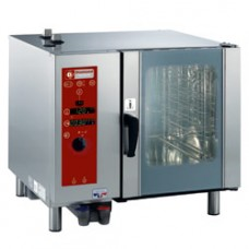 Gas Oven Direct Steam / conv.6xgn1 / 1+cleaning