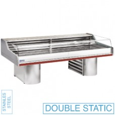 Refr. Counter With Glass