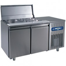 Refrigerated Saladette Table 260 L.