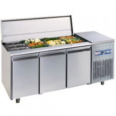 Refrigerated Saladette Table 405 L.