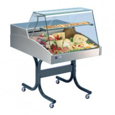 Refrigerated Display Counter, Vertical Windo