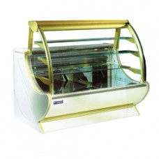 Refrigerated Glass Display Curved Window