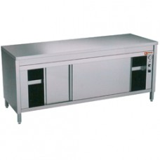 Heated Workcabinets With Sliding Doors
